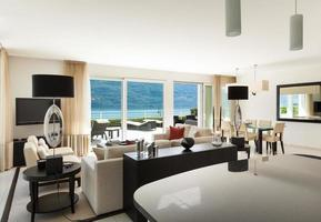 interieur, modern appartement