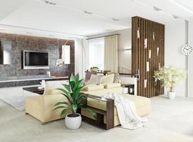 moderne woonkamer foto