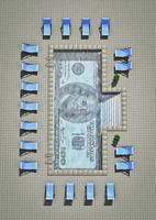 dollar zwembad foto