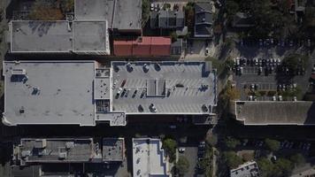 luchtfoto van gebouwen van de stad foto
