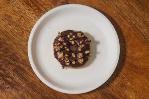 zoete en smakelijke donut foto