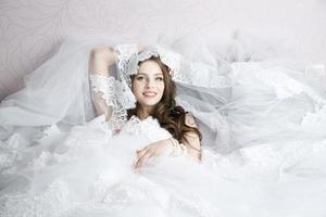 professionele make-up kapsel bruid