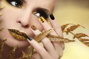 kaviaar manicure. foto