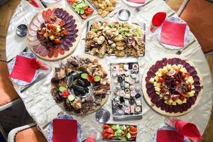 voedselarrangementen foto