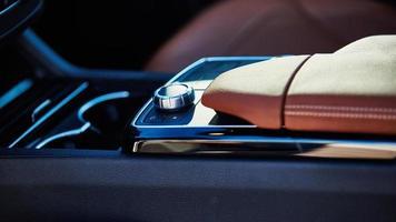 luxe auto interieur details foto