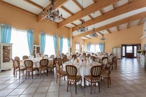 mediterraan interieur - receptie foto