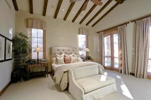 elegante slaapkamer foto