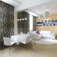 modern interieur van de woonkamer foto