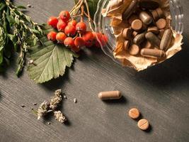 natuurlijke vitamines foto