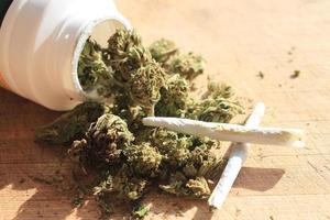 marihuana op recept foto