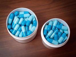 blauwe pillen foto