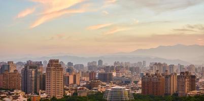 uitzicht op taipei foto