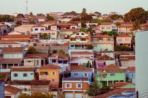 geassorteerde betonnen huizen