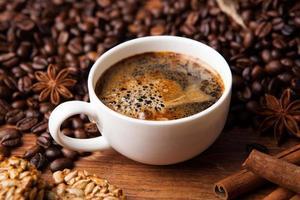 koffie stilleven foto