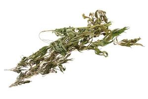 gedroogde hennep (cannabis)