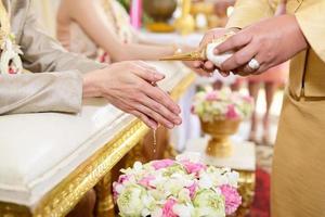 Thailand bruiloft foto