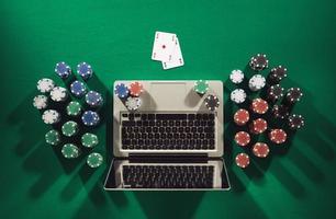 online pokerspel foto
