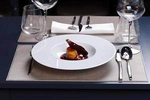 gastronomische maaltijd foto
