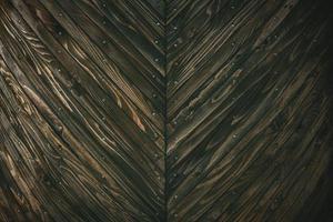 sluit weergave van houten muur