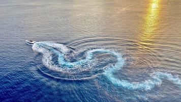 varen in bonaire caribisch nederland foto