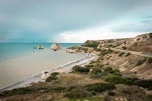 kust van cyprus foto