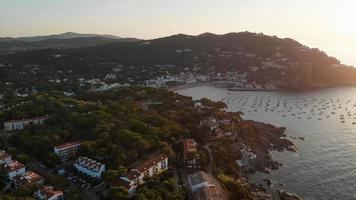 stad aan zee foto