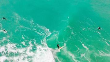 surfers in de zee