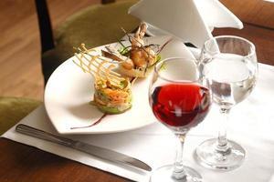 soorten zeevruchten op tafel foto