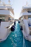 calvia puerto portals nous luxe jachten in Mallorca foto