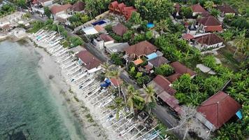 huizen aan het strand foto