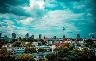 stadsgezicht van Berlijn foto
