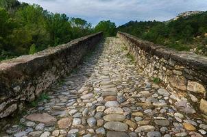 oude stenen brug foto