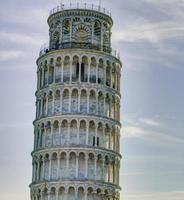 de toren van pisa foto