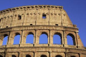 het colosseum, rome italië