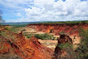 landschap in Madagaskar foto