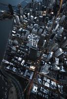 luchtfoto van chicago foto