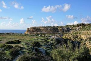 landschap op malta foto