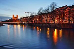 avondlandschap van München