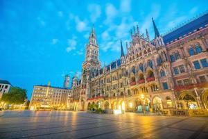 München centrum uitzicht foto