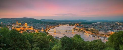 het centrum van boedapest in hongarije