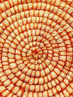 close-up foto van een mand