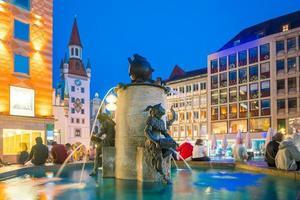 oud stadhuis in München foto