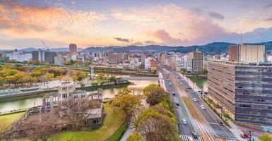 hiroshima vredesmonument foto