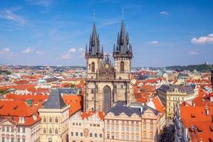 oude stadsplein, Praag, Tsjechië