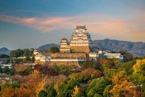 himeji kasteel japan foto