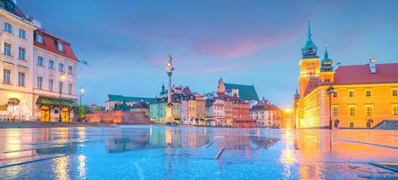 oude stad in Warschau, Polen