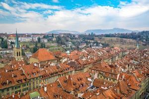oude stad bern, hoofdstad van zwitserland foto