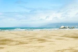 strand van san francisco foto