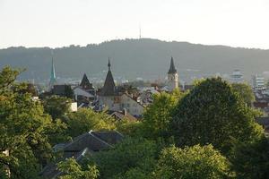 uitzicht op Zürich