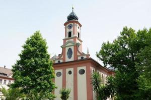 kerk op het eiland mainau foto